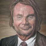 800# R. Perlak, It isn't Jan Kulczyk, 2014, oil on canvas, 39 x 28 in (99 x 70 cm)