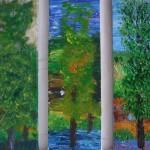 890# R. Perlak, 3 Portraits of a Tree