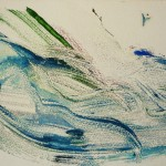 900# R. Perlak, Supposedly a Rabit, 2012, oil on paper, 8 x 16 in (20 x 40 cm)